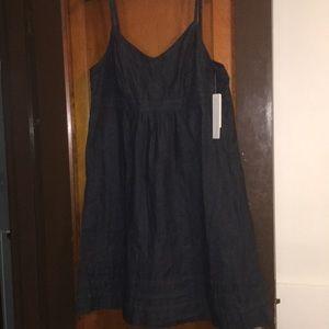 NWT Calvin Klein dark denim dress - XL